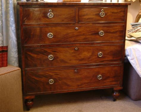 Mahogany Chest Of Drawers by A Regency Mahogany Chest Of Drawers 323058