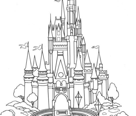 disney world castle coloring page coloring home disney world castle free coloring pages on art coloring