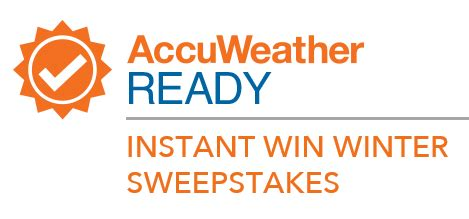 Your Daily Freebies Instant Win - accuweather ready winter instant win game