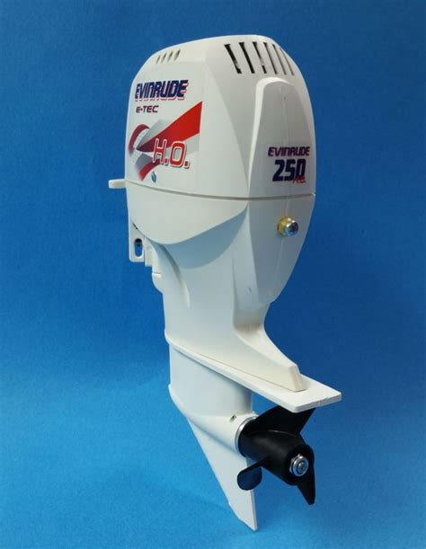 rc boats outboard motors scale evinrude outboard