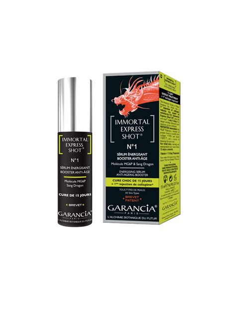 Serum Immortal garancia immortal express n 176 1 energising serum anti