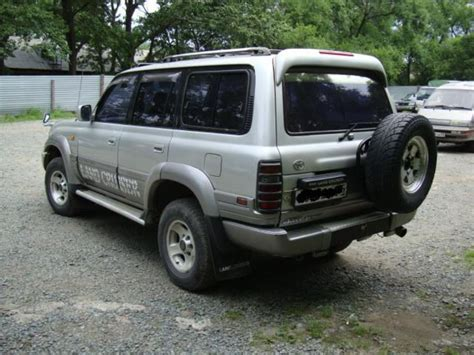 1992 Toyota Land Cruiser 1992 Toyota Land Cruiser Pictures 4200cc Diesel Manual