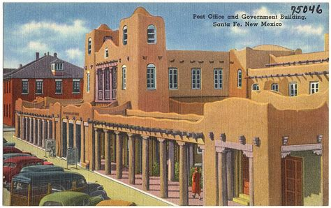 file post office and government building santa fe new