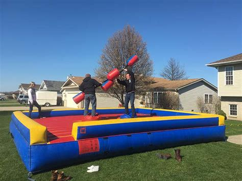 jousting arena the bounce house company
