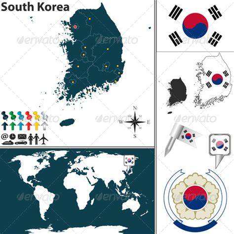 infografis animasi riau one map house of infographics map of south korea by sateda2012 graphicriver