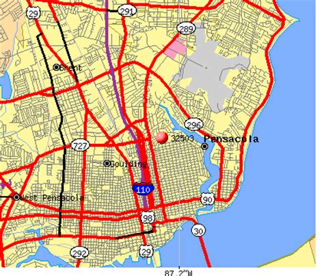 zip code map pensacola fl 32503 zip code pensacola florida profile homes