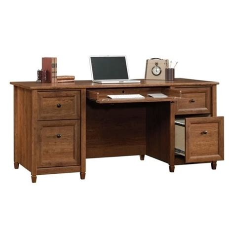 bowery hill computer desk bowery hill computer desk in auburn cherry bh 657471