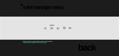 css layout with menu super menu pack 10 menus by vankarwai codecanyon