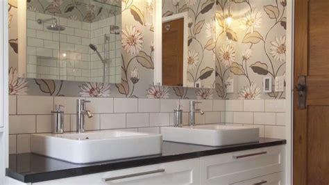 Bathroom Tile Feature Ideas renovated bathroom in this 1930s house mixes traditional