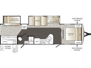 keystone outback floor plans 2014 outback 312bh floor plan travel trailer keystone rv
