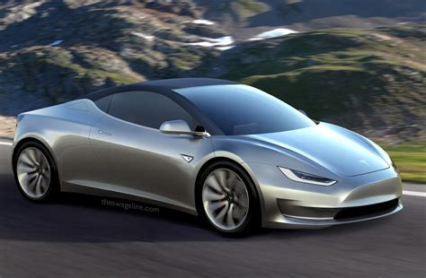 New Tesla Model R theswageline automotive renderings tesla model r