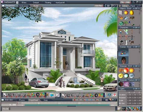 free home design rendering software true space en download chip eu