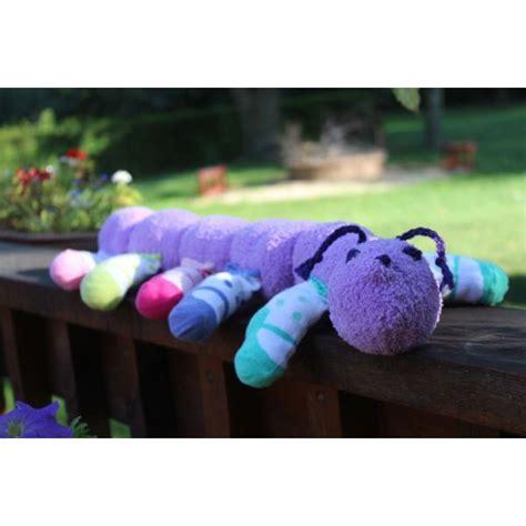 caterpillar sock puppet craft simple sock puppets