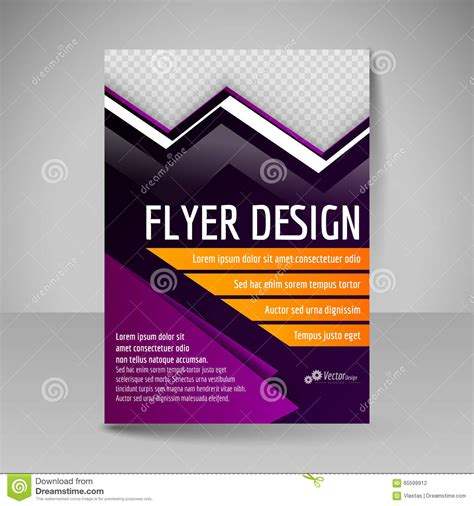 editable magazine template editable vector template of flyer for business brochure
