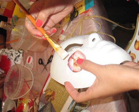 How To Decorate A Mask by Craft Ideas And Wall Decorations Masquerade Masks