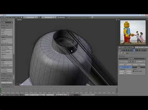 tutorial lego blender blender tutorial lego man part 1 4 youtube