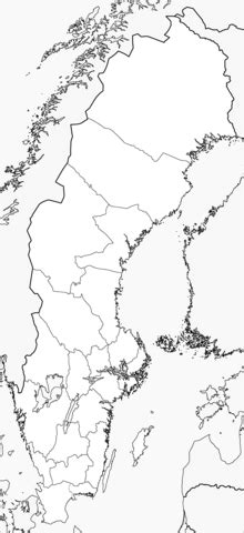sweden map coloring page  printable coloring pages