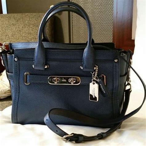 Jual Tas Coach Pebbled Leather Phoebe As Original Asli jual jual tas coach swagger 27 metallic blue original asli