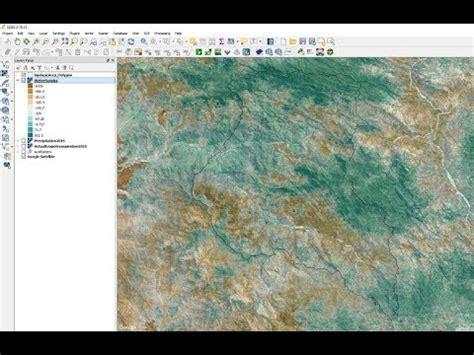 imagenes satelitales en qgis tutorial c 225 lculo de excedente h 237 drico en cuencas con qgis