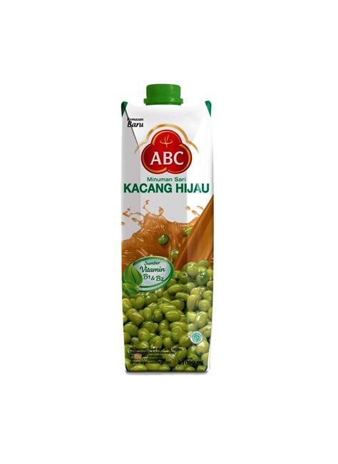 Abc Juice Kacang Hijau 1000ml abc minuman sari kacang hijau tpk 1000ml klikindomaret