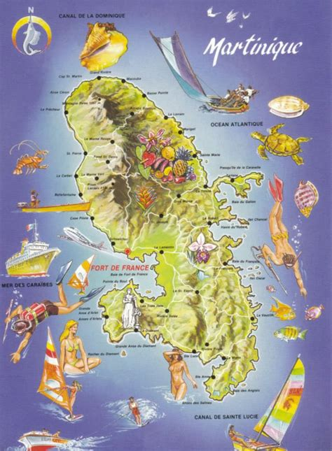 martinique map map martinique martinique medium d and maps