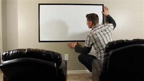 how to make a diy home theater projector and 50 quot screen how to make a diy home theater projector and 50 quot screen