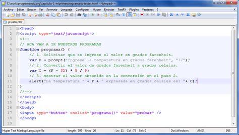 convertir imagenes html online 1 mi primer programa aprende a programar v0 1a