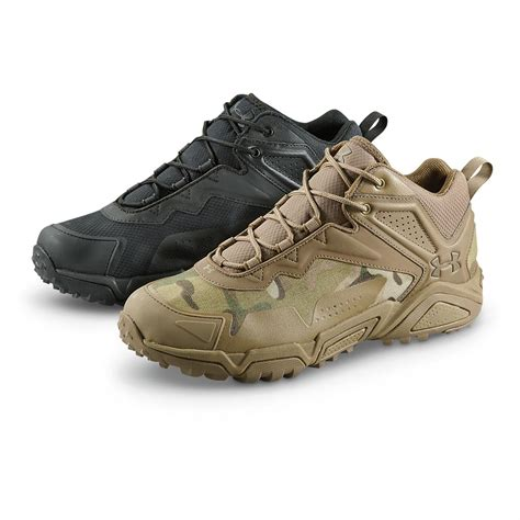 mens hiking shoes armour s tabor ridge waterproof low hiking boots