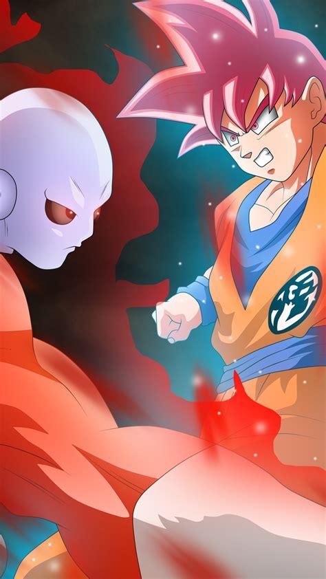 wallpaper dragon ball super jiren goku anime