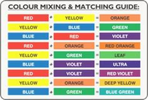 1000 images about color chart on color mixing chart secondary color and color mixing