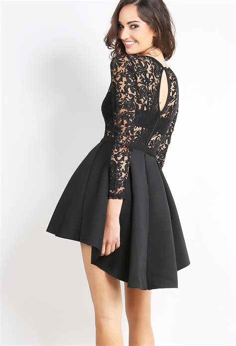 Flare Dress lace flare dress shop mini dresses at papaya clothing