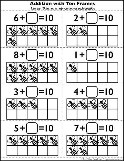 printable number bond cards number bonds to 10 free math worksheets