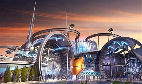 theme park expo details revealed about marvel s future with disney theme