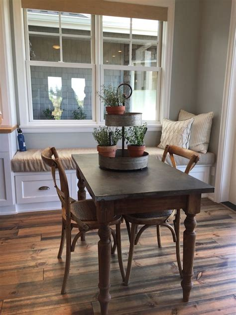 Window Seat Dining Table Farmhouse Of Dreams Dining Table And Window Seat Modern Farmhouse Style