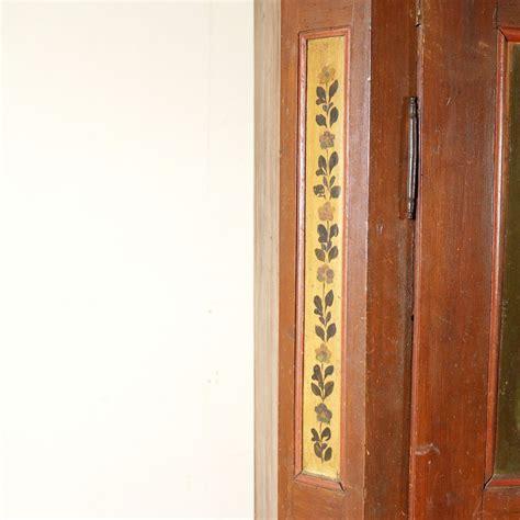 armadio dipinto armadio a due ante dipinto armadi antiquariato