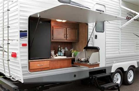 travel trailer with outdoor kitchen pin by patty willms on travel trailers