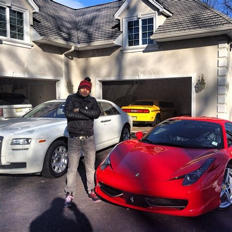 dj envy adds  ferrari   garage celebrity cars blog