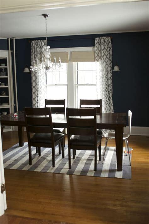 navy blue dining room navy blue dining room home pinterest