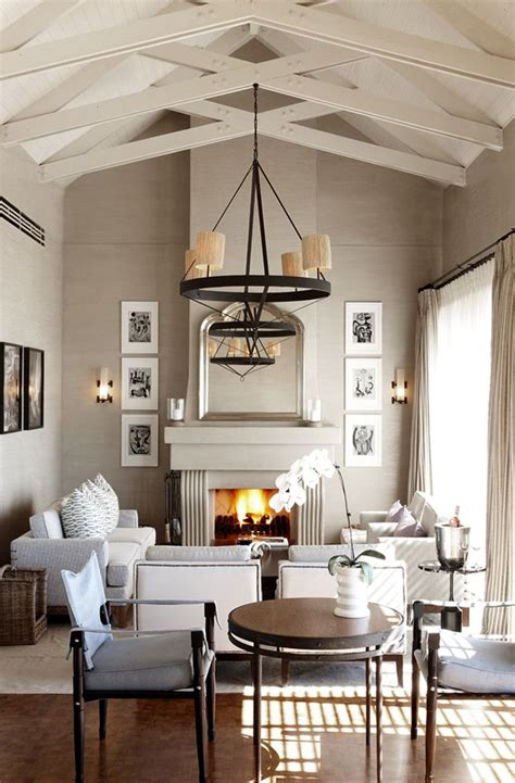 ceiling room living room vaulted ceilings house pinterest