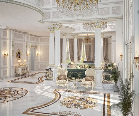 main entrance hall design main entrance hall design for a private villa at doha on behance