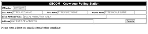 Find By Their Number Don T Where To Vote Stabroek News