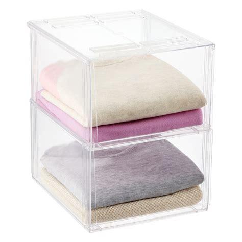 Sweater Wanita Premium Sweater Cewek 12 premium stackable shirt sweater bins the container store
