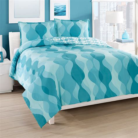 City Loft Good Vibes Reversible Comforter Duvet Set From