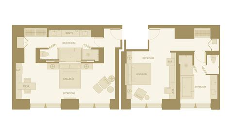 hotel room floor plans luxury 1 bedroom deluxe hotel room nyc langham place