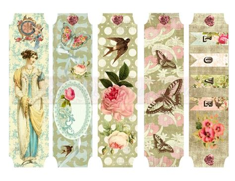 printable bookmarks vintage 122 best images about bookmarks printable diy on