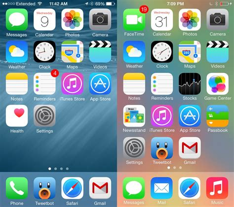 iphone ios 8 layout ios 8 vs ios 7 8 changes iphone owners need to know