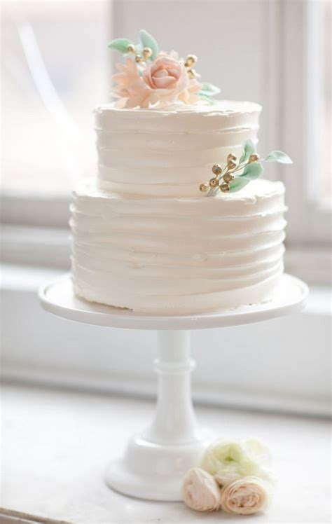 Wedding Cake Simple by Pics For Gt Simple Buttercream Wedding Cake