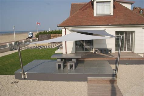 Terrasse Voile D Ombrage by Voile D Ombrage Terrasse Finest Voiles Dombrage Pour