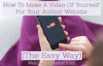 win easy the way books how to make a of yourself for your author website