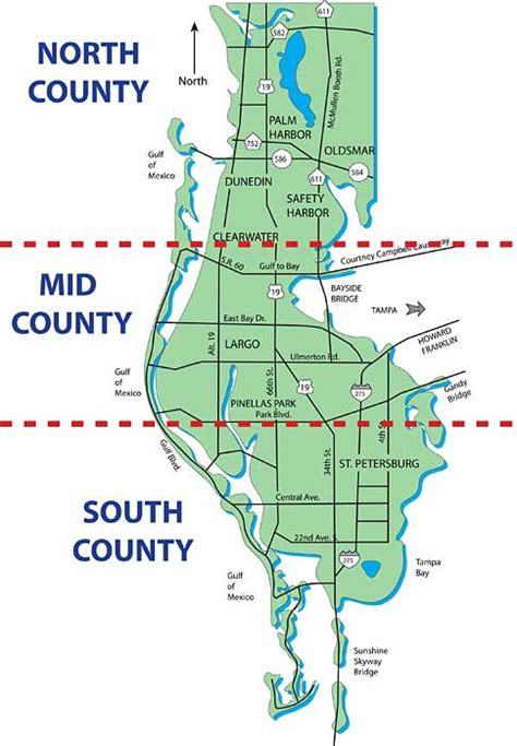 pinellas county florida zip code map image gallery pinellas